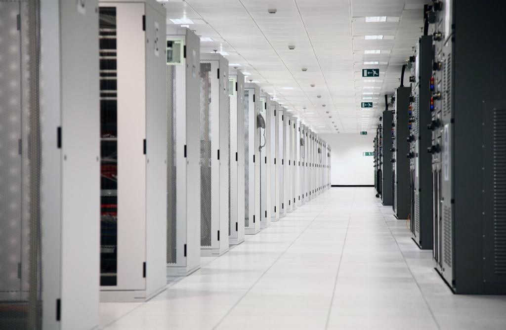 Network Servers at Data Center