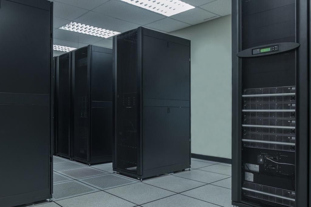 Server farm in data center