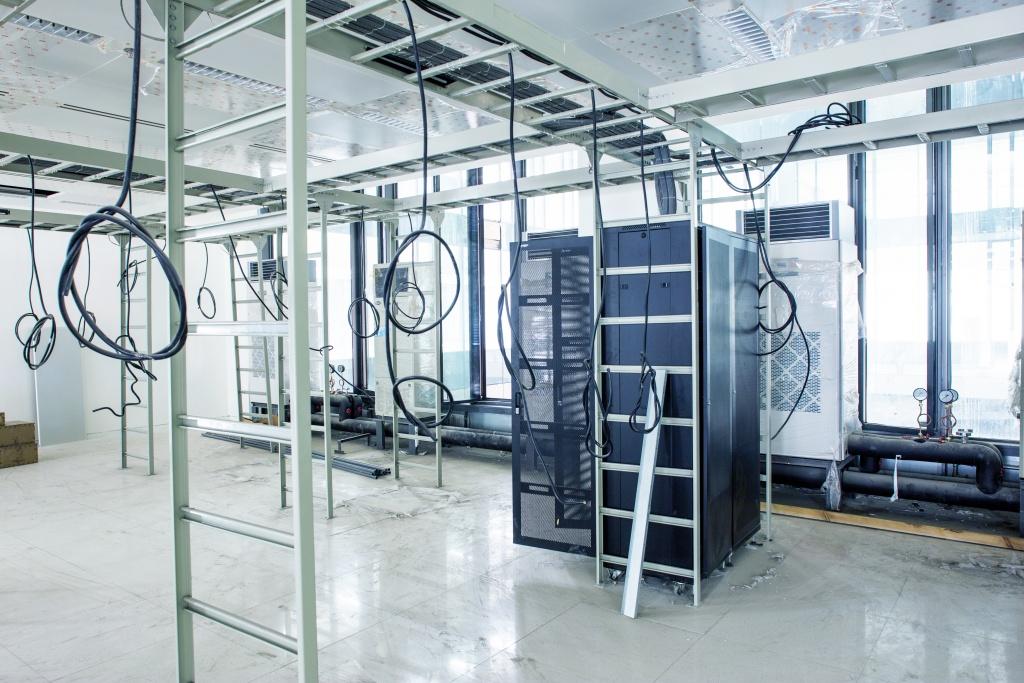 interior of machine room